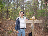 Me on the Appalachian Trail