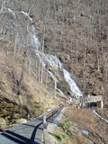 Amicalola falls further down