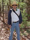 Me hiking the Appalachian trail