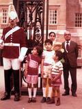 Munira, me, Mom, Fowzi, Grandpa in England