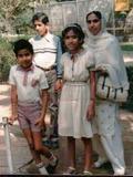 Fowzi, me, Munira, Mom