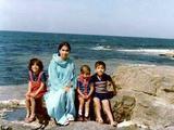 Munira, Mom, Fowzi, me in Libya