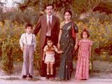 Me, Dad, Fowzi, Mom, Munira in Libya