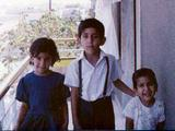 Munira, me, Fowzi in Libya