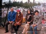 Dad, Munira, Mom, me in Murree
