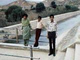 Munira, Fowzi, me in Rawalpindi