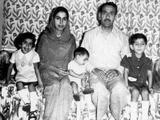 Munira, Mom, Fowzi, Dad, me in Wah