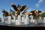Fountain at Atlantis
