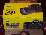 Nikon D80 Box