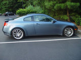 My G35 Coupe's side view