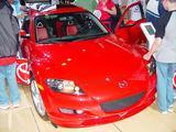 Mazda RX-8: A Wankel in there and our baby could fit in as well