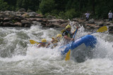 Having fun in Ocoee River