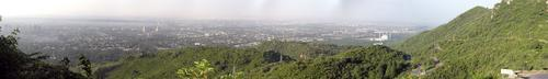 A Panoramic View of Islamabad, Pakistan