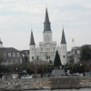 Jackson Square from boat