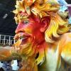 Float at Mardi Gras World