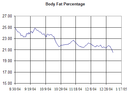 Body Fat 2004